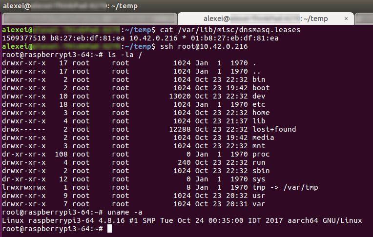 How to build RPI3 ARMv8 aarch64 build | Karamba Security Blog