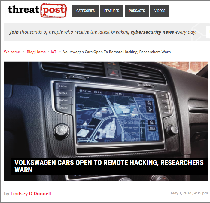 ThreatPost 1 May 2018
