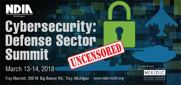 Cybersecurity Defense Sector Summit logo